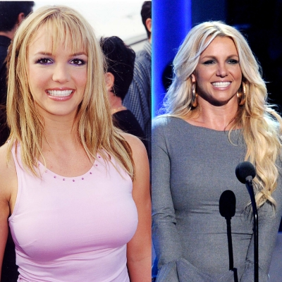 A sweet and innocent Britney Spears was seen at the 1999 Teen Choice Awards. A much more mature Spears made an appearance at the &#8216;We Will Always Love You: A Grammy Salute to Whitney&#8217; event in October 2012