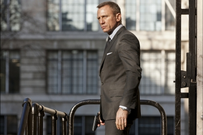 Daniel Craig is James Bond in 'Skyfall'
