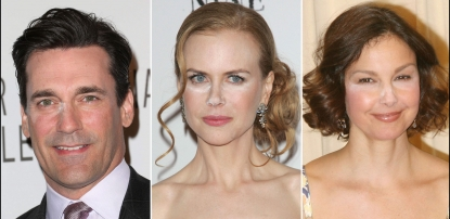 Jon Hamm/Nicole Kidman/Ashley Judd