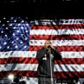 Jay-Z performs at a Barack Obama campaign event at Schottenstein Center on on the eve of the 2012 election in Columbus, Ohio on November 5, 2012 