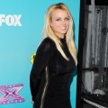 Britney Spears arrives at FOX's 'The X Factor' Finalists Party at The Bazaar at the SLS Hotel Beverly Hills in Los Angeles on November 5, 2012