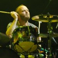 Will Champion of Coldplay performs at Piedmont Park in Atlanta, Georgia on September 24, 2011