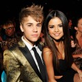 Justin Bieber and Selena Gomez pose during the 2011 Billboard Music Awards at the MGM Grand Garden Arena in Las Vegas May 22, 2011