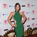 Alicia Keys looks gorgeous in green at the MTV EMA's 2012 at Festhalle Frankfurt on November 11, 2012 in Frankfurt am Main, Germany