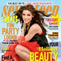 Ashley Greene on the cover of the December 2012 - January 2013 issue of Seventeen magazine