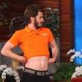 Andrew Garfield dances on 'The Ellen DeGeneres Show' on November 13, 2012