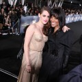 "Kristen Stewart and Shaun Robinson pose at ""The Twilight Saga: Breaking Dawn - Part 2"" Hollywood premiere"