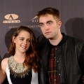 Kristen Stewart and Robert Pattinson attend a photocall for &#8216;The Twilight Saga: Breaking Dawn Part 2&#8217;in Madrid on November 15, 2012 