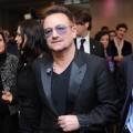 Bono arrives for the third day of the 2012 International Herald Tribune's Luxury Business Conference held at Rome Cavalieri on November 16, 2012 in Rome, Italy