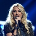 Carrie Underwood performs onstage during rehearsals for the 40th American Music Awards held at Nokia Theatre L.A. Live in Los Angeles on November 17, 2012