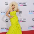 Nicki Minaj arrives at the 40th Anniversary American Music Awards at Nokia Theatre L.A. Live on November 18, 2012 in Los Angeles
