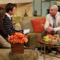 Pitbull visits the set of Access Hollywood on November 19, 2012