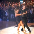 Shawn Johnson and Derek Hough perform an Argentine tango to &#8216;Bad&#8217; on &#8216;Dancing with the Stars: All-Stars,&#8217; Nov. 19, 2012
