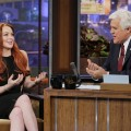 Lindsay Lohan visits 'The Tonight Show with Jay Leno,' Nov. 20, 2012