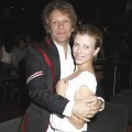 Stephanie Rose Bongiovi and her dad, Jon Bon Jovi attend the White Trash Beautiful Clothing Label Launch at Indig02 in London on June 23, 2010