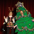 Access Hollywood Live's Billy Bush and Kit Hoover get into the holiday spirit!