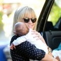Reese Witherspoon is spotted with son Tennessee in Los Angeles on November 20, 2012