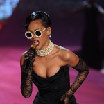 Rihanna seen during the Victoria's Secret 2012 Fashion Show in New York City on November 7, 2012