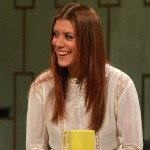 Kate Walsh on Access Hollywood Live on November 8, 2012