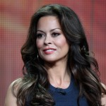 Brooke Burke-Charvet speaks onstage at the 'Dancing with the Stars: All-Stars' panel during the Disney/ABC Television Group portion of the 2012 Summer TCA Tour in Beverly Hills on July 27, 2012