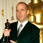 Winner of Best Writing, Screenplay Written Directly for the Screen for &#8216;Little Miss Sunshine&#8217; Michael Arndt poses in the press room during the 79th Annual Academy Awards at the Kodak Theatre on February 25, 2007