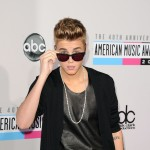 Justin Bieber attends the 40th American Music Awards held at Nokia Theatre L.A. Live on November 18, 2012 in Los Angeles