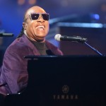 Stevie Wonder performs at the American Music Award in honor of the awards show's founder Dick Clark on November 18, 2012
