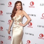 Lindsay Lohan arrives at the &#8216;Liz &amp; Dick&#8217; Los Angeles premiere at Beverly Hills Hotel in Beverly Hills, Calif. on November 20, 2012 