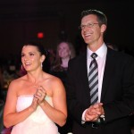 Danica Patrick and Paul Hospenthal attend Celebrity Fight Night XVI, at the JW Marriott Desert Ridge in Phoenix, Ariz., March 20, 2010