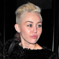 Miley Cyrus shows off her shaved &#8216;do in New York City on November 19, 2012