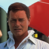 Larry Hagman on set of &#8216;Dallas&#8217; in 1980 in Los Angeles
