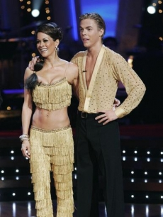 Brooke Burke and Derek Hough on 'Dancing with the Stars'