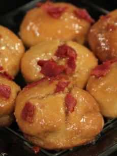 Adrian Bustamante's Thanksgiving mashed potato donuts