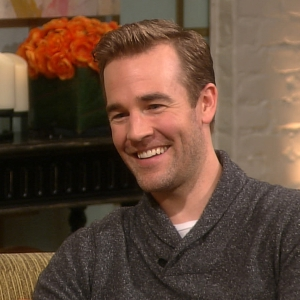 James Van Der Beek Talks Being A Daddy &amp; His Wife Giving Birth At Home