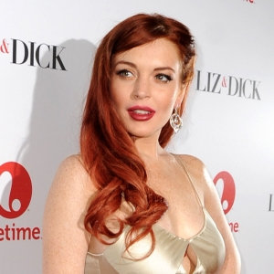 Lindsay Lohan's Liz & Dick Hollywood Premiere