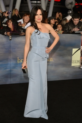 Elizabeth Reaser arrives at 'The Twilight Saga: Breaking Dawn - Part 2' Los Angeles premiere at the Nokia Theatre L.A. Live on November 12, 2012 in Los Angeles