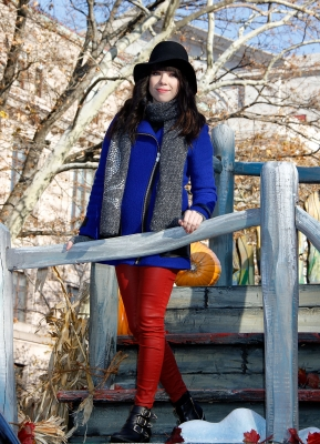 Carly Rae Jepsen is seen at the 86th Annual Macy's Thanksgiving Day Parade in New York City on November 22, 2012