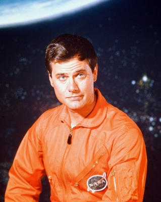 Larry Hagman in a promo photo for 'I Dream of Jeannie,' 1967