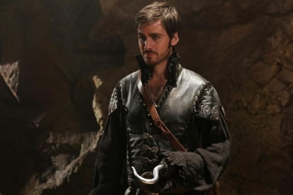 Colin O'Donoghue as Capt. Hook on 'Once Upon A Time'