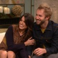 Nikki Reed and Paul McDonald stop by Access Hollywood Live on November 26, 2012