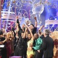 Tony and Melissa celebrate victory on &#8216;Dancing with the Stars: All-Stars,&#8217; Nov. 27, 2012