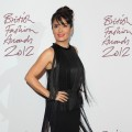 Salma Hayek attends the British Fashion Awards 2012 at The Savoy Hotel in London on November 27, 2012 