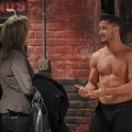 Valentin Chmerkovskiy and Nancy Lee Grahn on 'General Hospital,' 2012