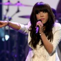Carly Rae Jepsen performs onstage during the 40th American Music Awards held at Nokia Theatre L.A. Live on November 18, 2012 in Los Angeles