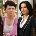 Jennifer Morrison as Emma, Ginnifer Goodwin as Snow, Lana Parrilla as Regina and Barbara Hershey as Cora