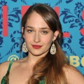 Jemima Kirke attends the HBO with The Cinema Society host the New York premiere of HBO's 'Girls' at the School of Visual Arts Theater on April 4, 2012