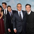 Rosemarie Dewitt, John Krasinski, Gus Van Sant, Matt Damon and Scoot McNairy attend &#8216;Promised Land&#8217; premiere at AMC Loews Lincoln Square 13 theater on December 4, 2012