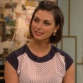 Morena Baccarin on Access Hollywood Live on December 7, 2012