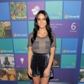 Olivia Munn hits the red carpet at the Microsoft All Access Holiday Party on December 6, 2012 in Los Angeles