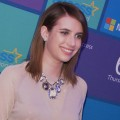 Microsoft All Access Holiday Party: Emma Roberts Turns Into A Gadget Girl
